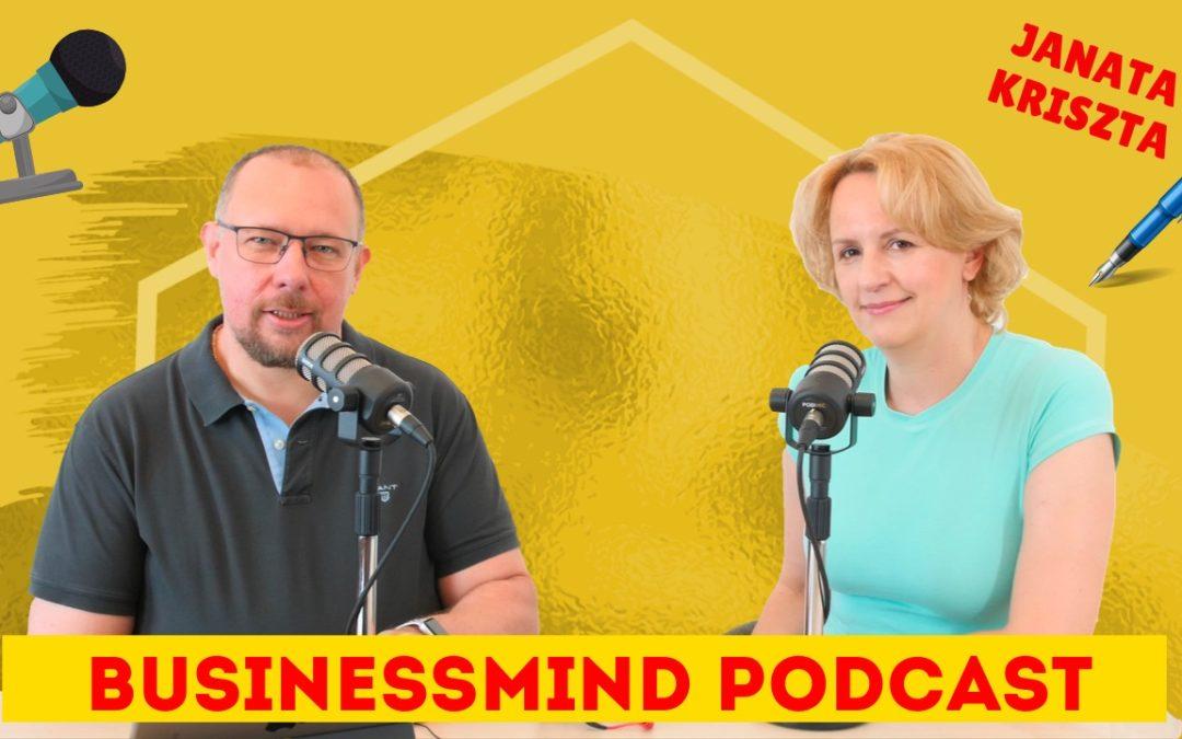 Janata Kriszta interjú – BusinessMind Podcast